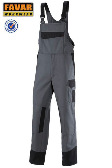 100%cotton drill PPE safety workwear bib overall