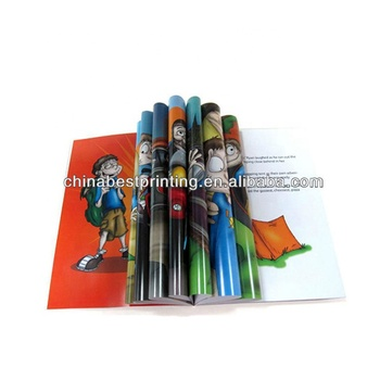 Cheap Children's Picture Cartoon Comic Book Printing