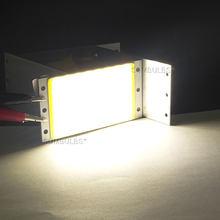 94x50 мм 15 Вт COB светодиодный светильник, модуль лампы постоянного тока 12 В 1600LM Ультраяркий Теплый Холодный белый синий cob чип на плате, СВЕТОДИ...(Китай)