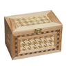 SA8000 FSC decorating 6 sides special material wooden package box