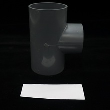 5 inch pvc pipe and virgin pvc pipe fitting gray color for connection pipes different size