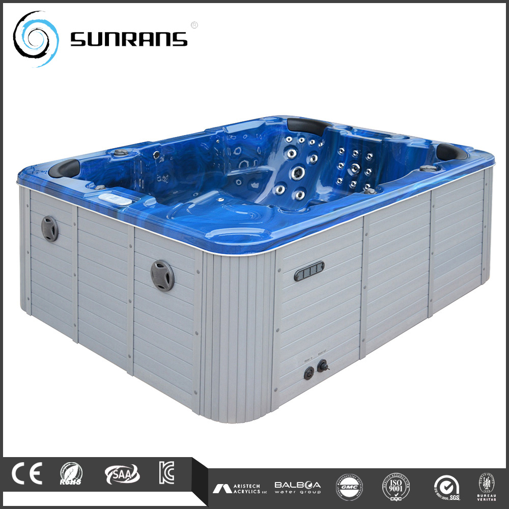 Factory cheap price hydro massage many jets 12 person spa