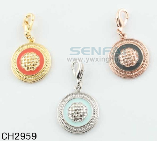 Customized Lucky Charms for Fashion Jewellry Making