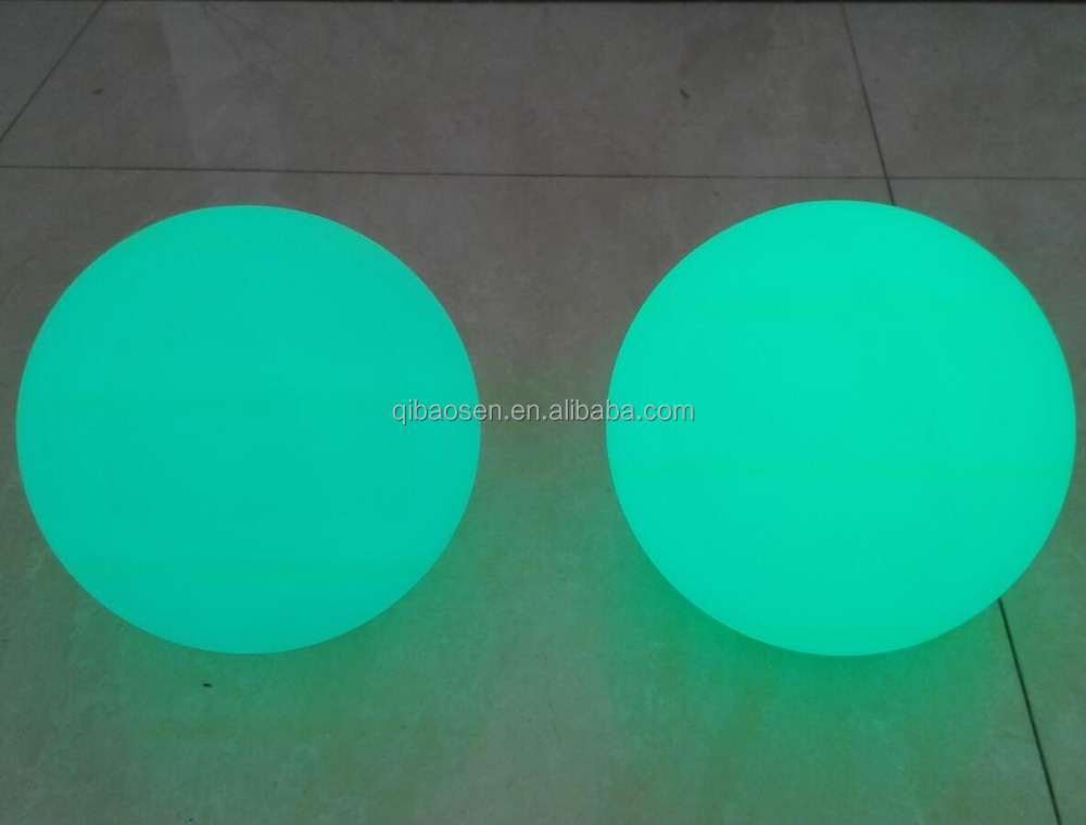 Waterproof LED luminous ball light / party decorate adornment Colorful scene remote control LED light