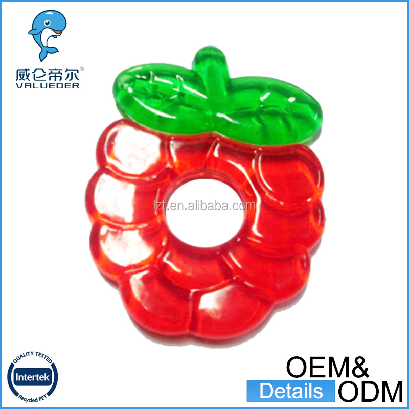 China manufacturing soft safety funny custom silicone baby teether