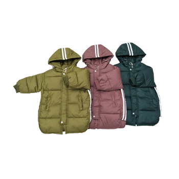 Winter Kids Boy Clothes Outer Long Sleeve Overcoat Solid Color Fall Winter Keep Warm Baby Boys Stylish Coat