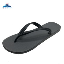 cheap comfortable simple fashion black beach men flip flop