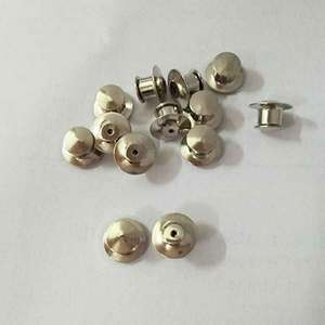 Promotion locking pin back butterfly clutch Clasp Fastener label pins backs