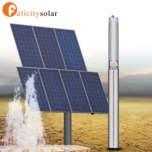 Energy saving solar water pump for agriculture with long life