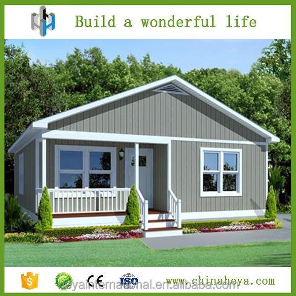 China kit de casa modular prefabricada casa villa villa de estilo ...