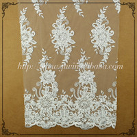 Wholesale Hot Lace Fabric/Manufacturer New bridal wedding dress/Pakistani fabric for wedding dress lace