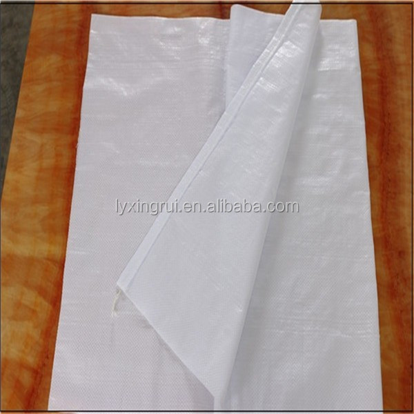 China Food grade PP bags for feed/rice/corn/grain in bulk 25kg 50kg
