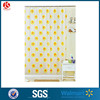 Hotel Fancy Shower Curtain Bath Curtain without Plastic Hooks