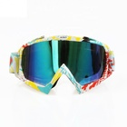 China Factory Clear Lens Motocross Eyewear Safety Sports Googles