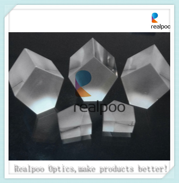 Supply glass penta prism with optional coating