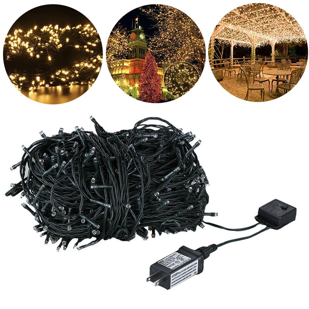 8 Style Loving Light Warm White Safety Design 24V Garden Patio Home Event Decoration W/ lighting effects Controller For Apartment Room Office New-year Winter Celebration Party MI-D14