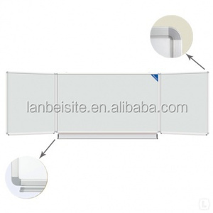 Foldable whiteboard double side movable Whiteboard magnetic writing white board