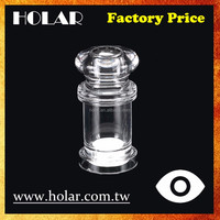 [Holar] Taiwan Made Factory Price Clear Body Salt and Pepper Shakers