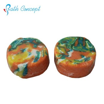 Top quality handmade colorful bubble bar
