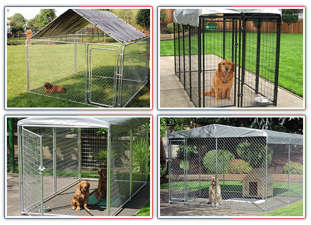 China Supplier - Chain Link Wire Dog Fence / Outdoor Large ...
