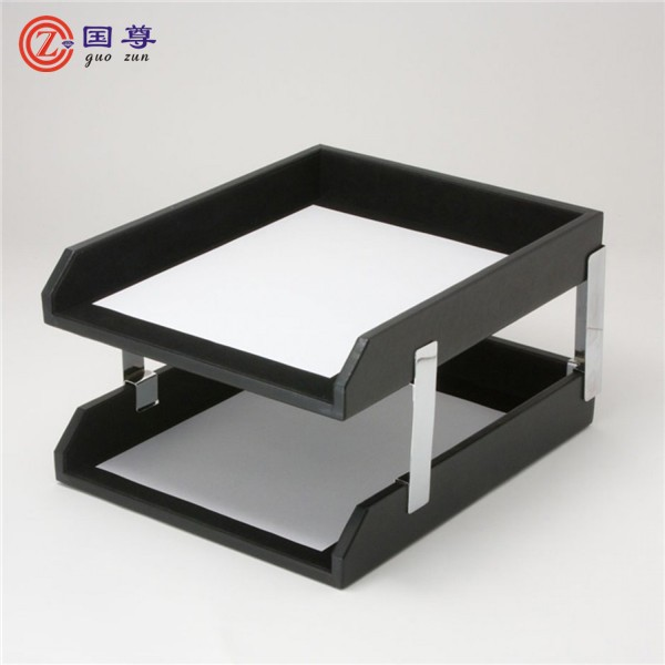 High Quality 2 Tier Doent Tray Office Wholes