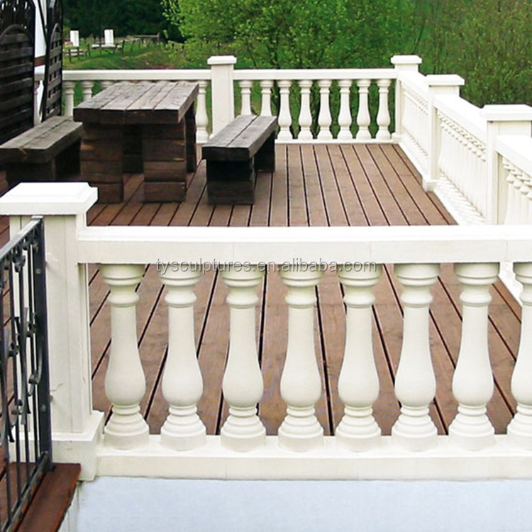 Balcony In Marble Wall : European morden design home decoration balcony stone