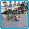 Outdoor Coin Operated Artificial Children Park Dinosaur Ride