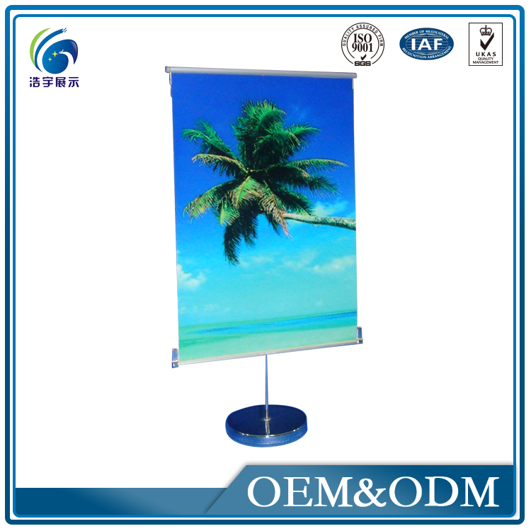 HY04-6 Factory Direct Sale Pop Up Display Wall Shelves Pictures