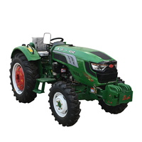 Taishan brand DF model lower price 45hp 4wd agriculture wheel tractors with 9.5-24 rear tyre