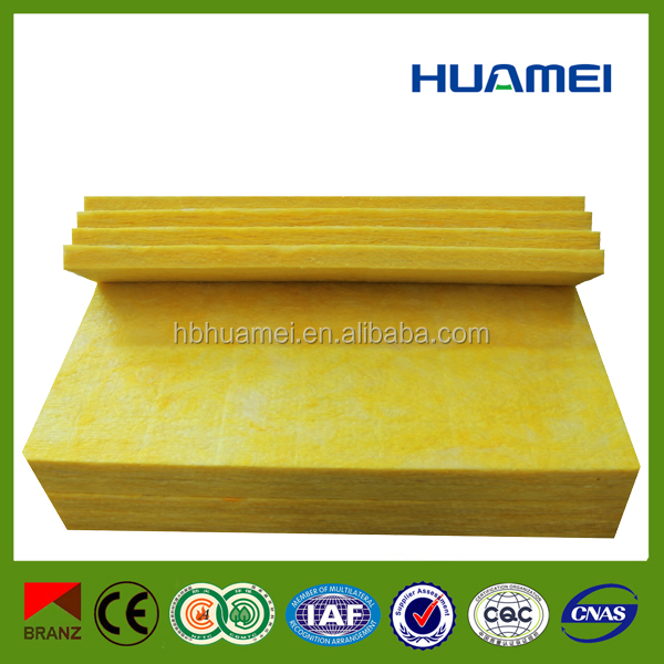 soundproof roofing building material glass wool panel
