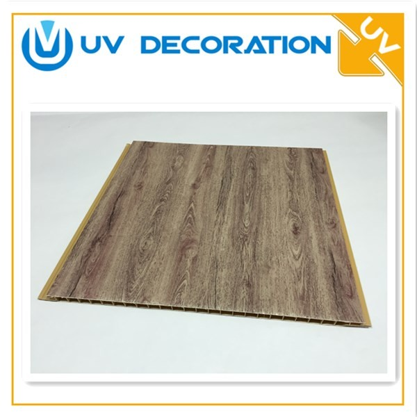 Fireproof Waterproof Panels : Glossy printing wood cm mm m waterproof pvc ceiling