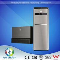 domestic air source central heating heat pump 200l inverter heat pump china