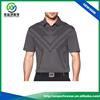 Popular design high quality 92% polyester 8% lycra blend material dri fit anti-UV golf polo shirts for men
