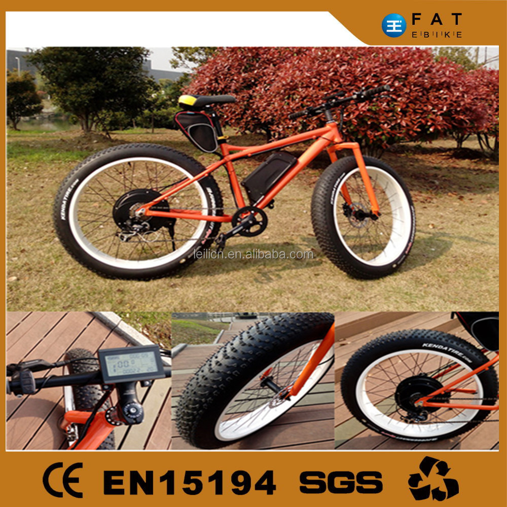 2015 fat tire beach ebike e <strong>bike</strong> made in China by LEILI