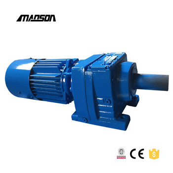R series electric motor vertical reduction gearbox buy for Reduction gearbox for electric motor