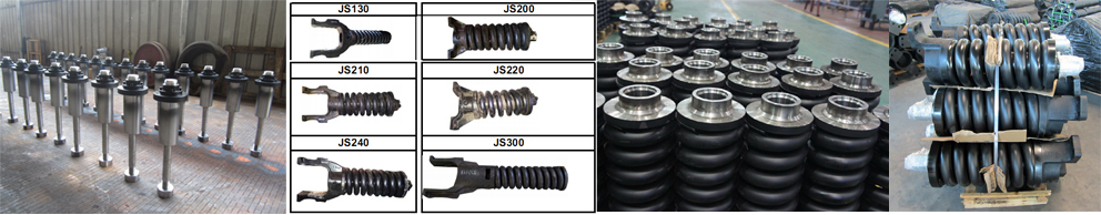 Rupsgraafmachine & bulldozer onderstel onderdelen/track richter/terugslag lente/cilinder CAT312C