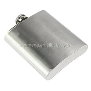 Alibaba hot selling new year sublimation wine flagons blank gift metal hip flasks