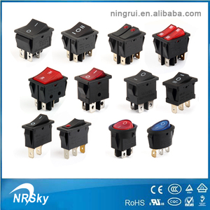 250v 16a Waterproof Electrical t125 Rocker Switch t85