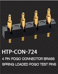 24V 6A Hytepro 마그네틱 노트북 전원 커넥터 라운드 2 핀 어댑터