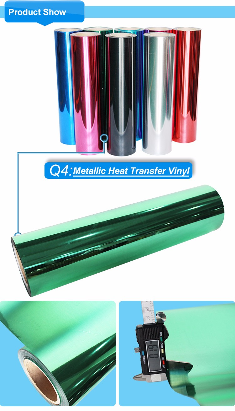 Kenteer High quality Metallic heat transfer vinyl