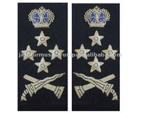MALAYSIAN POLICE DEPUTY INSPECTOR SHOULDER STRAP EMBROIDERY