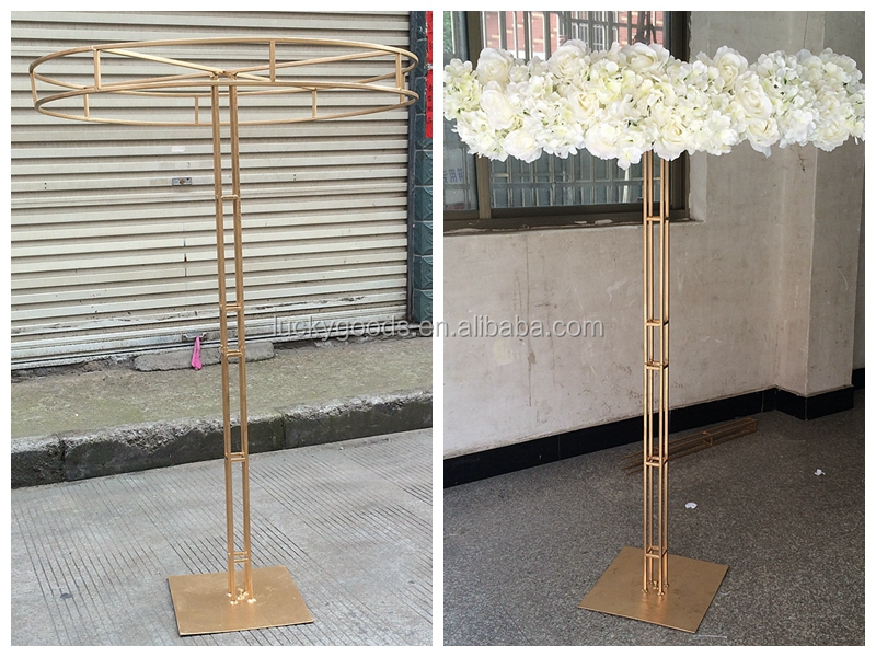 Fashionable umbrella shape decorative table centerpiece