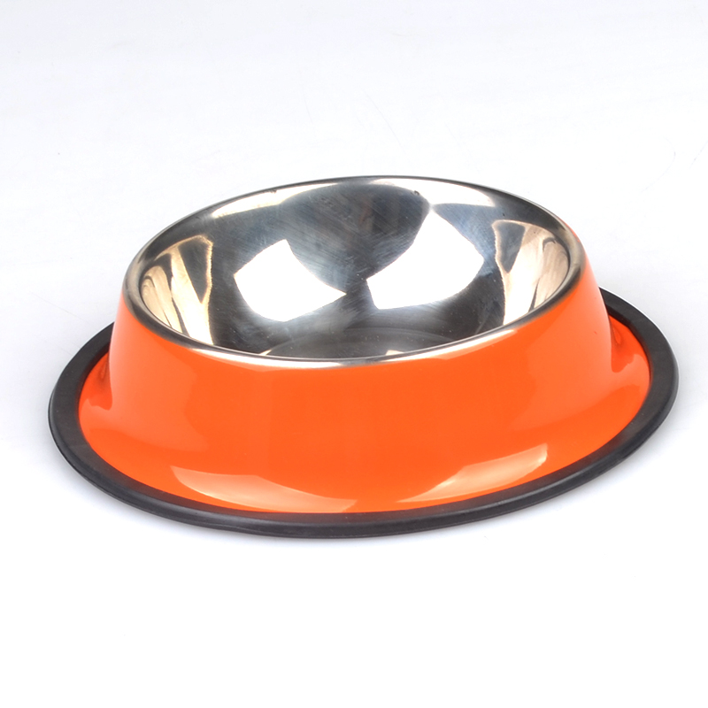 Color printed stainless steel <strong>dog</strong> <strong>bowl</strong>