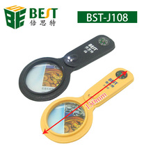 BEST-10X multifunction small magnifying glass
