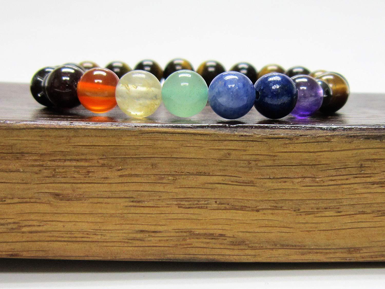 BUILD your CHAKRA Bracelet . Choose from more than 70 different stones. Custom Chakra Bracelet Make your Chakra Bracelet with the stones you want. Custom Chakra Gemstone Mala