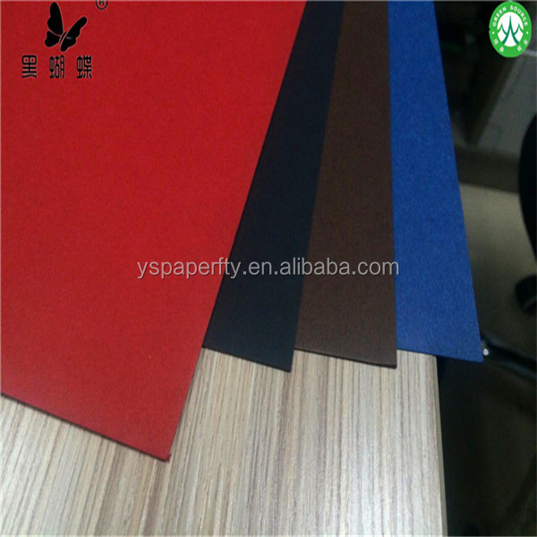 China black paper mill in dongguan 2016 HOT SEAL black paper with 100% virgin wood pulp