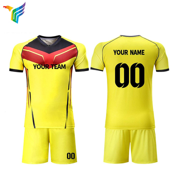 fd5cc850351 China Sublimated Blank New Model Kids Custom Football Shirts Maker Team Set Soccer  Jersey