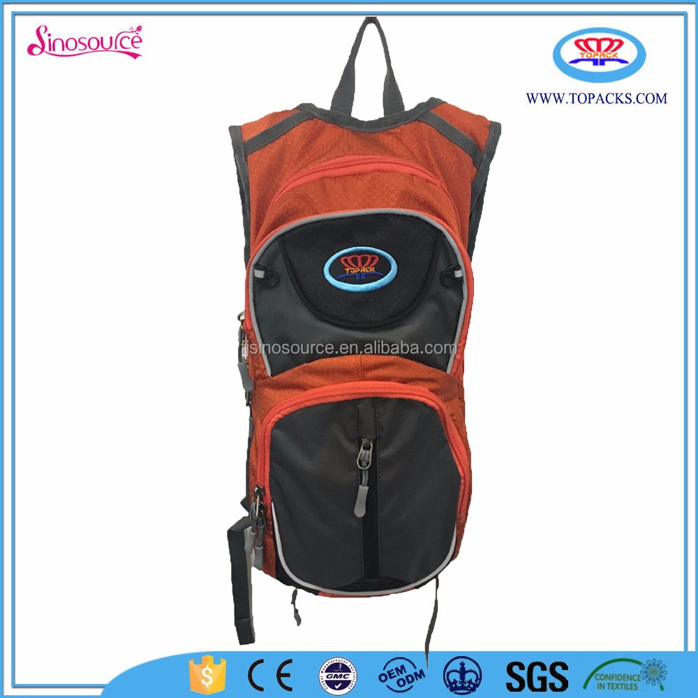 alibaba supplier china 2016 new fashion sport picnic hydration pack bag