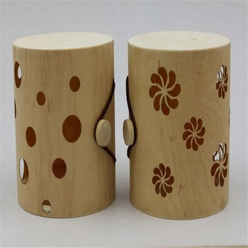 hot sale hollow out design wooden jewelry storage box