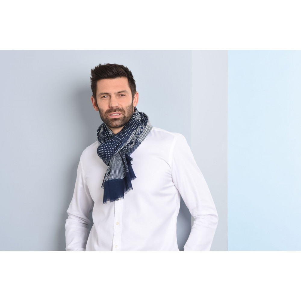 Amazon new release High quality cheap man silk wool tubular scarf made in China